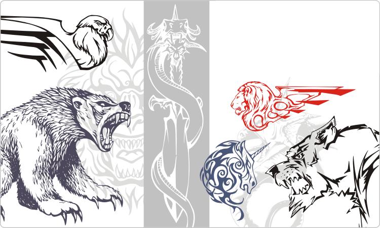Animal & Monster Tattoo Designs