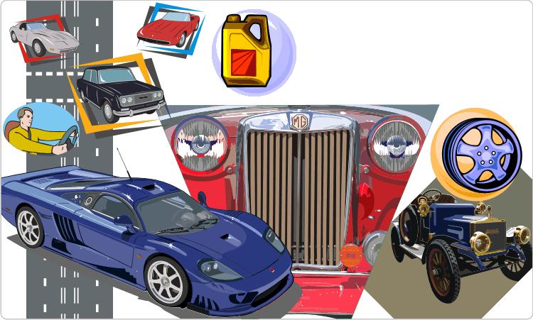 Autos und Autoersatzteile