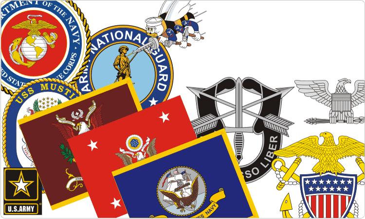US-Militärinsignien