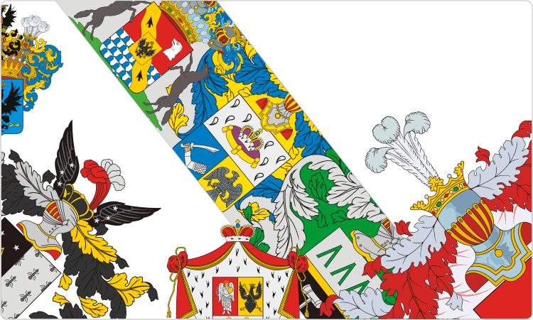 Russische Familienwappen und Wappen