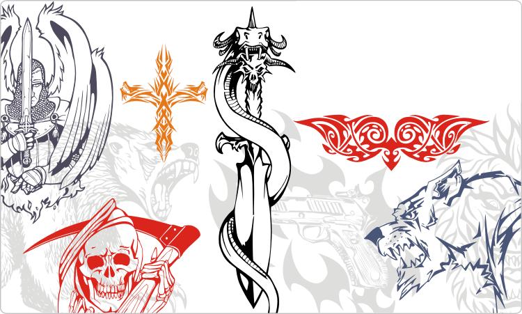 Tribal Tattoos Clipart